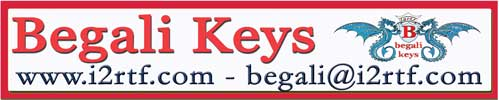 Begali Keys logo