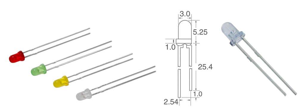 3mm LED Assortment