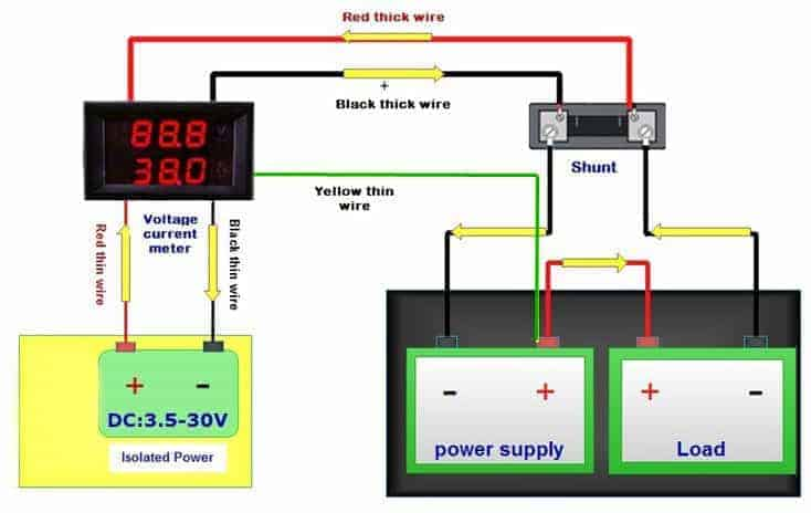 DVAM-02 Isolated Power Supply Connection