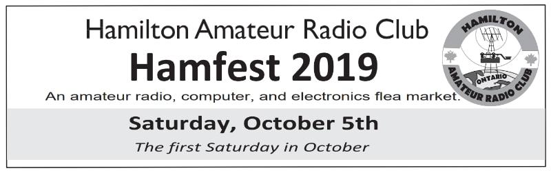 Hamilton ARC Hamfest 2019