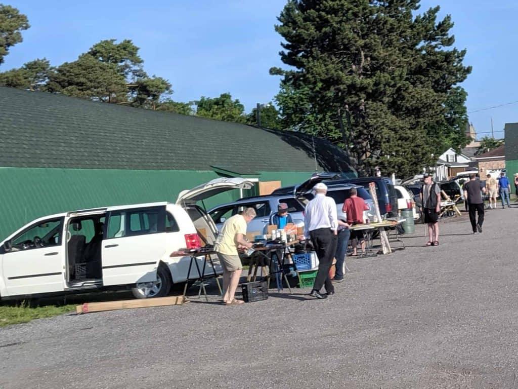 Burlington Amateur Radio Club's Milton Hamfest 2019