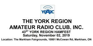 York Region Hamfest Logo